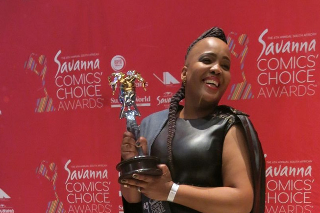Tumi Morake makes history